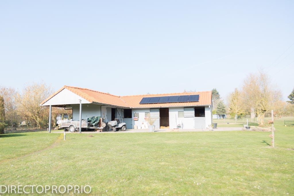 Maison Individuelle de standing avec boxes pour chevaux et prairie